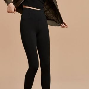 Aritzia Talula Mullaly Black High Rise Leggings S
